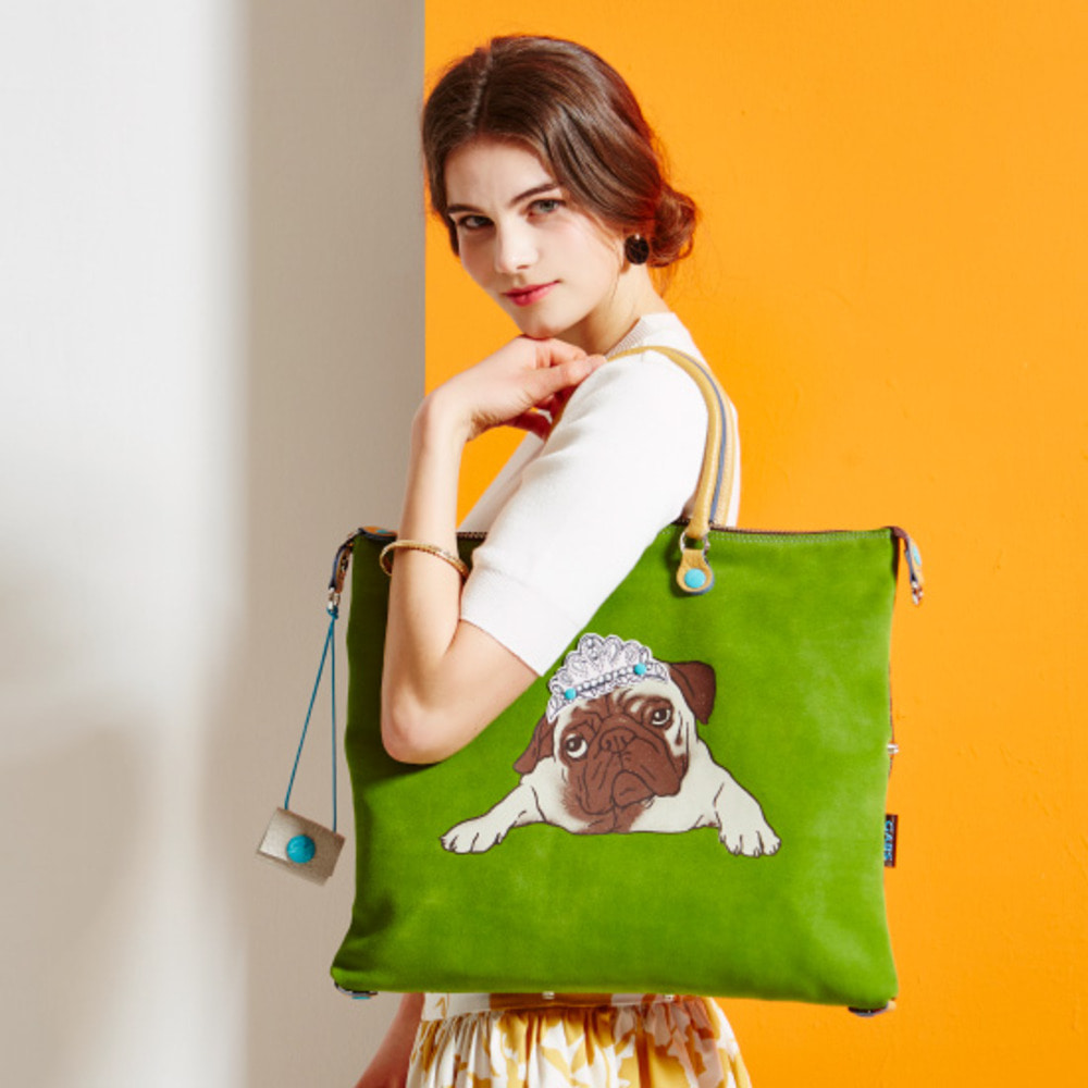 PUPPY BAG (Green) L - 퍼피백 (그린) L